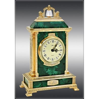 Malachite Desk Clocks. Siberian Treasures (Pr...